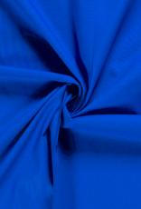 Katoen - Effen - Kobalt blauw