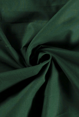 Katoen - Effen - Donker Groen