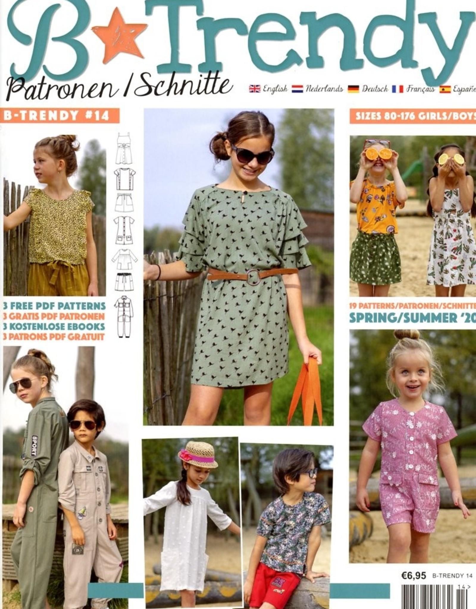 Magazine - B-Trendy 14 - Lente/zomer 2020