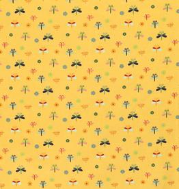 Katoen - Libelle - Geel