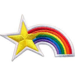 Strijkapplicatie - Rainbow  & Star