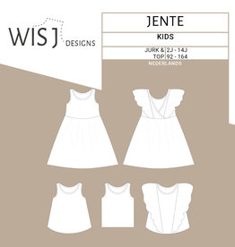 WISJ Patroon WISJ - Jente jurk & top