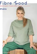 Fibre Mood Boordstof - Vera - Green