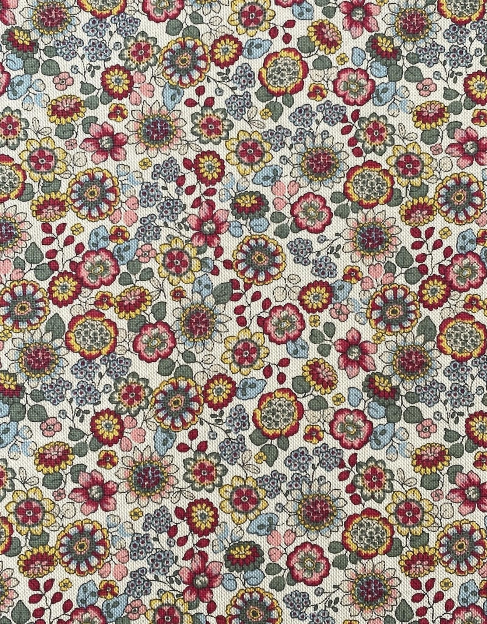 Canvas - Little flowers - Naturel