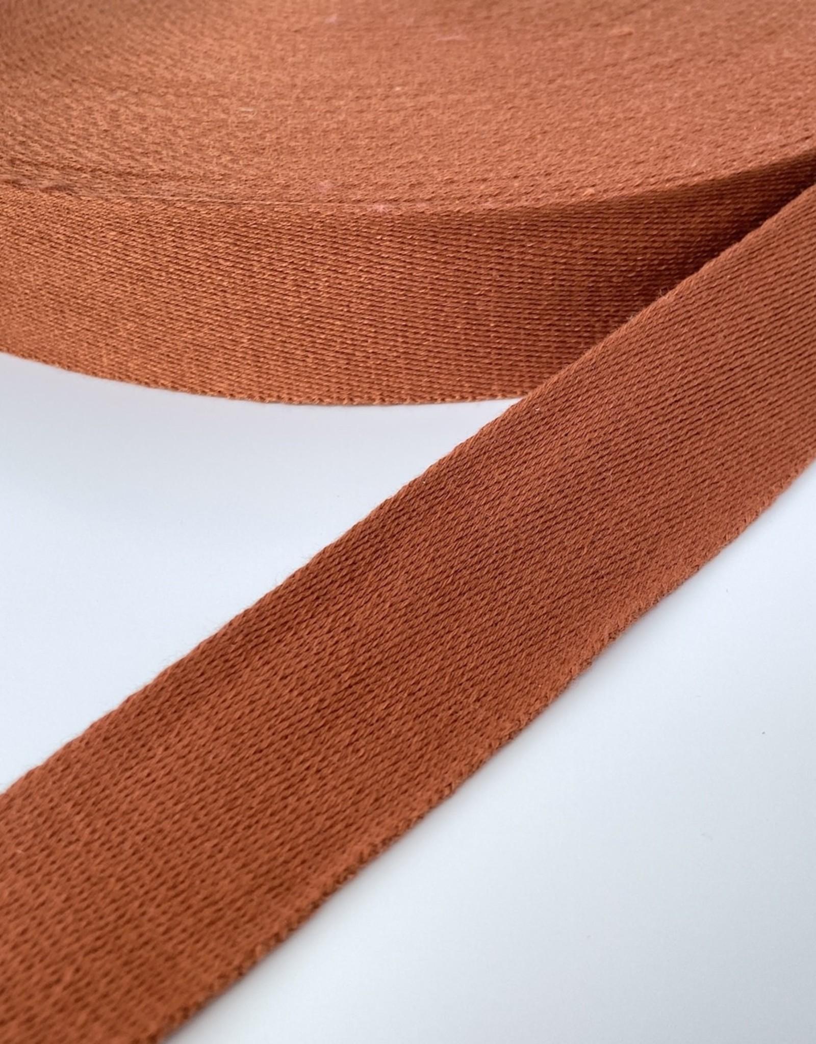 Tassenband - Steenrood