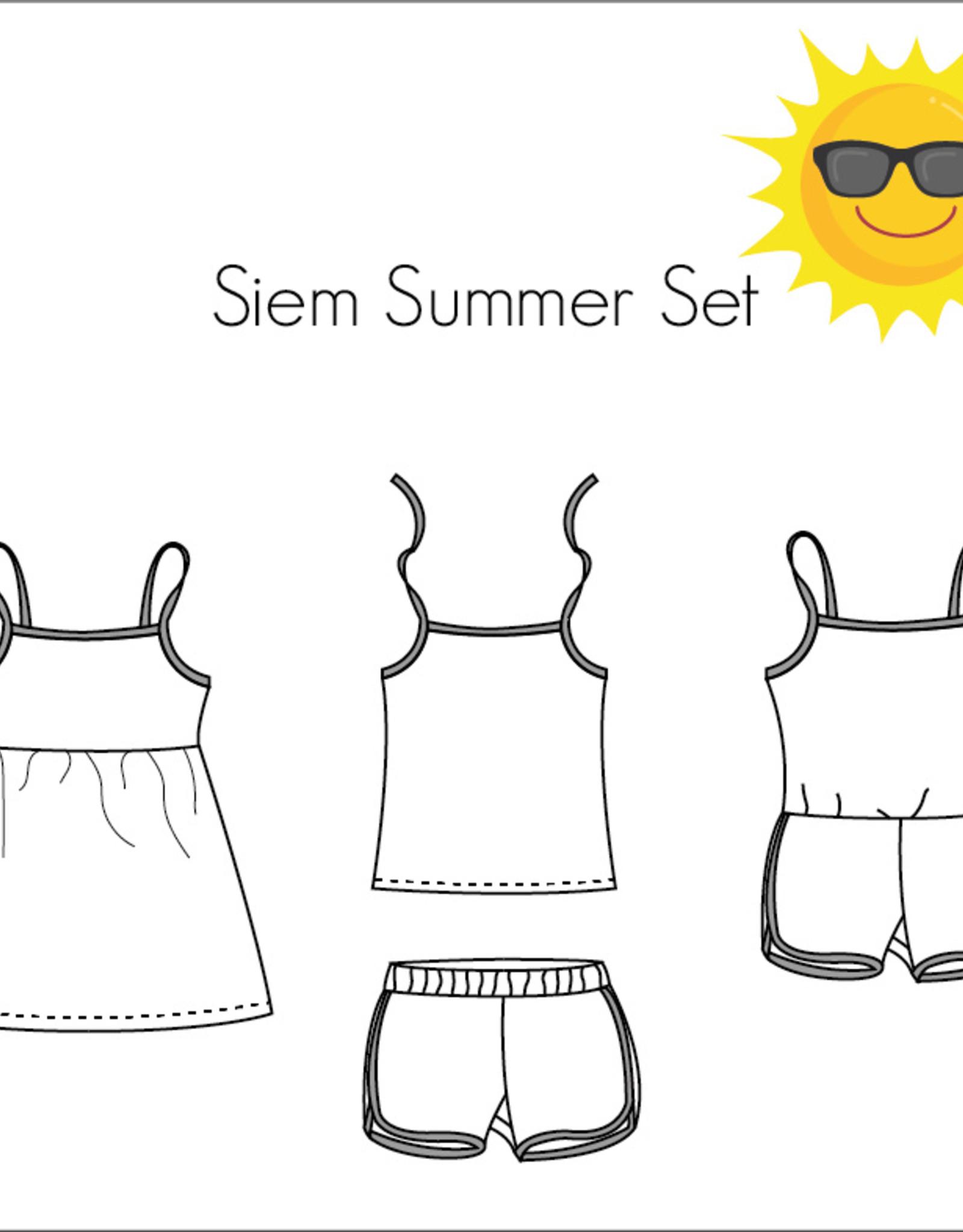 Bel'etoile Patroon - Siem Summer set
