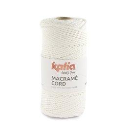 Katia Fabrics Macramékoord Gedraaid 5mm - Bobijn 100m  - Wit