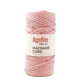 Katia Fabrics Macramékoord Gedraaid 5mm - Bobijn 100m  - Oud rose