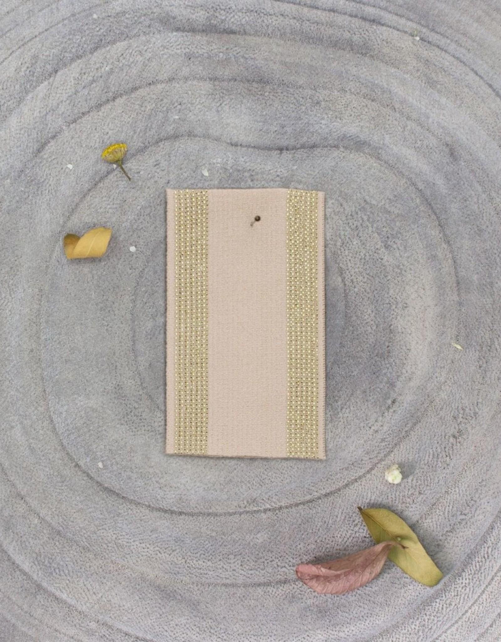 Atelier Brunette Zachte Elastiek  - Stripes - Blush