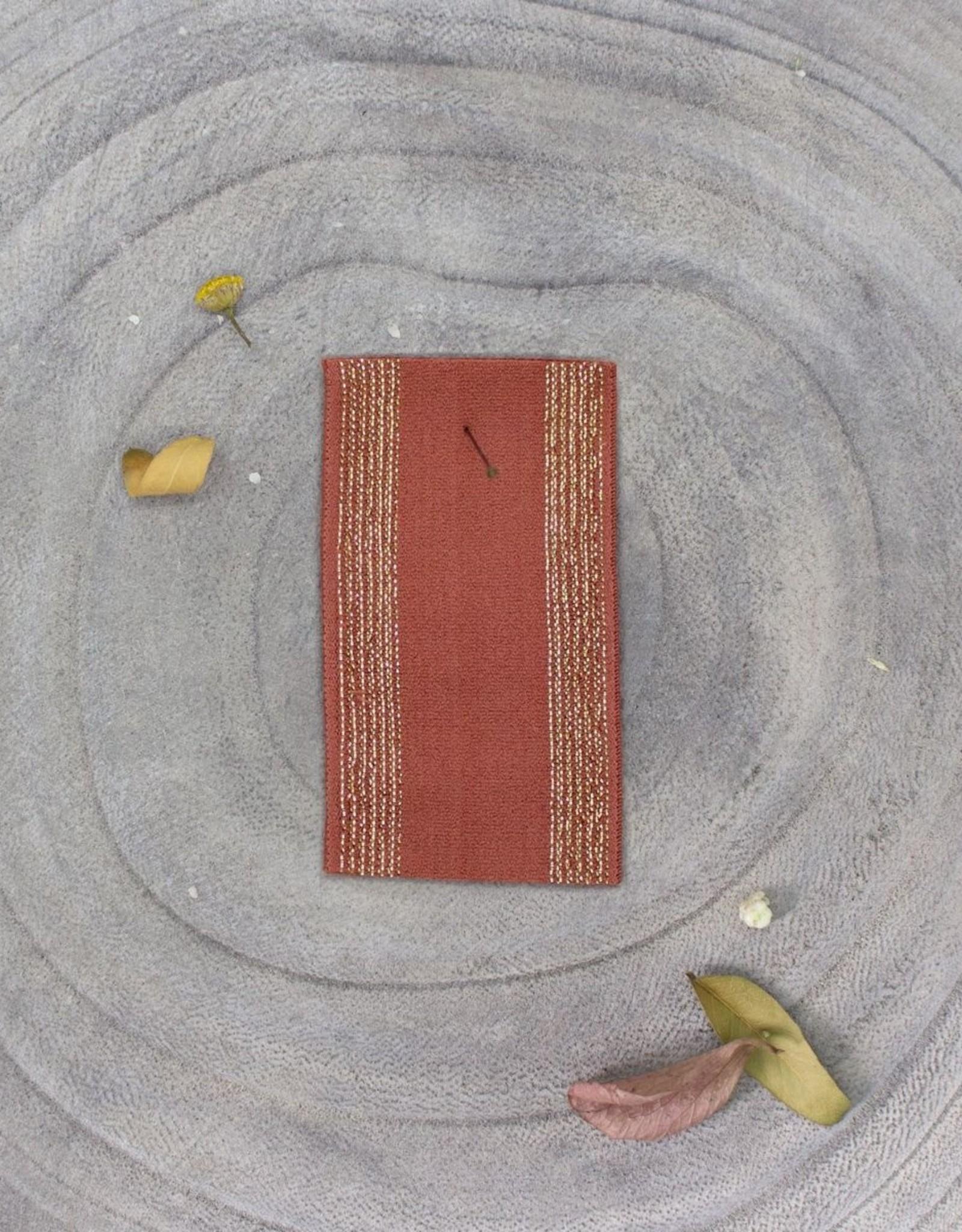 Atelier Brunette Zachte Elastiek  - Stripes - Chestnut