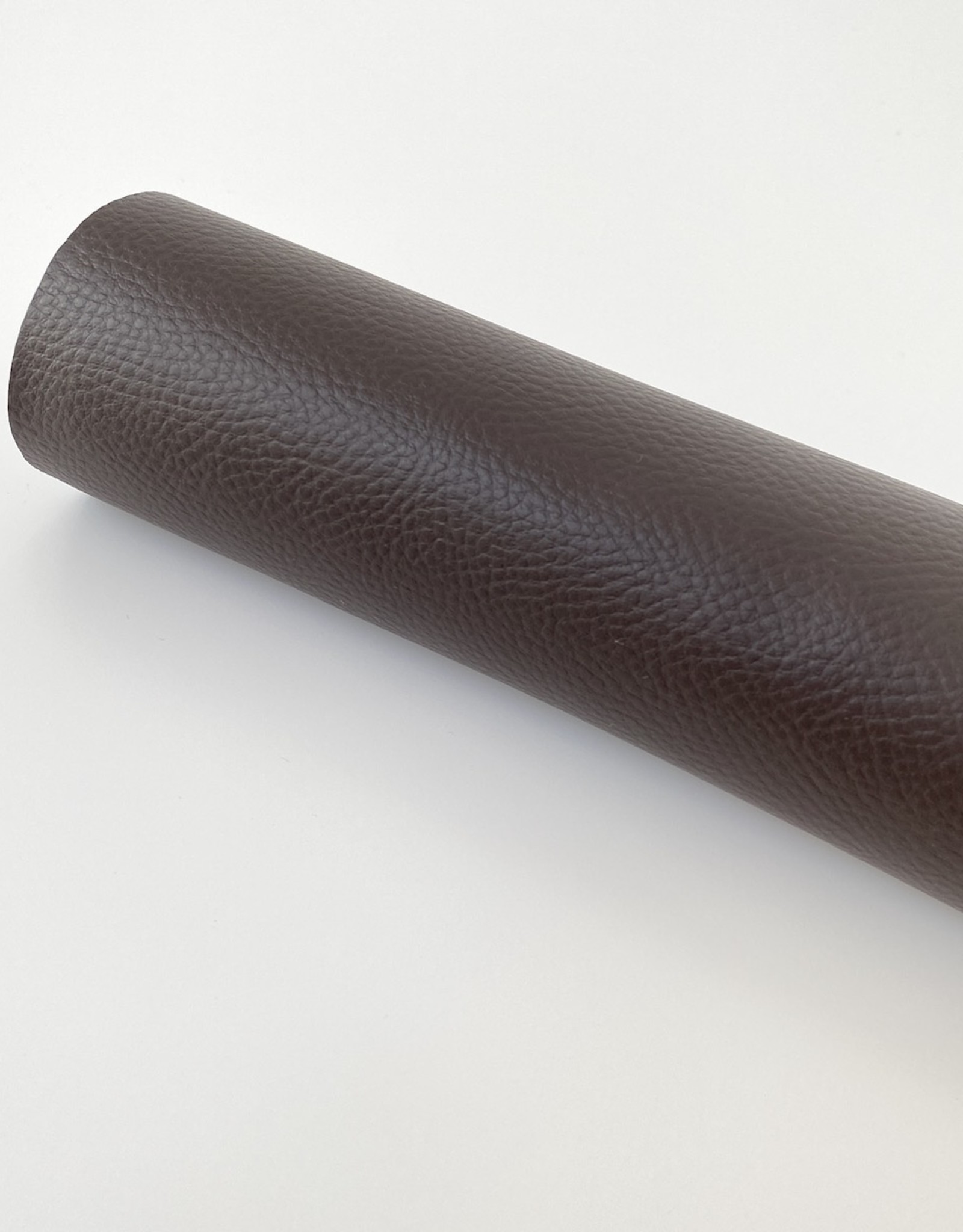 Kunstleer - op rol - Chocolade