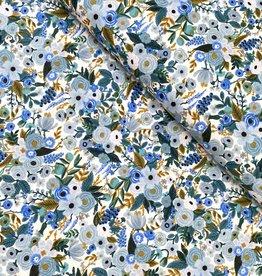 Rifle Paper Katoen - Blue Flowers