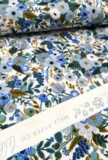 Rifle Paper Katoen - Rifle Paper - Blue Flowers