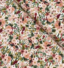 Rifle Paper Katoen - Pink Flowers