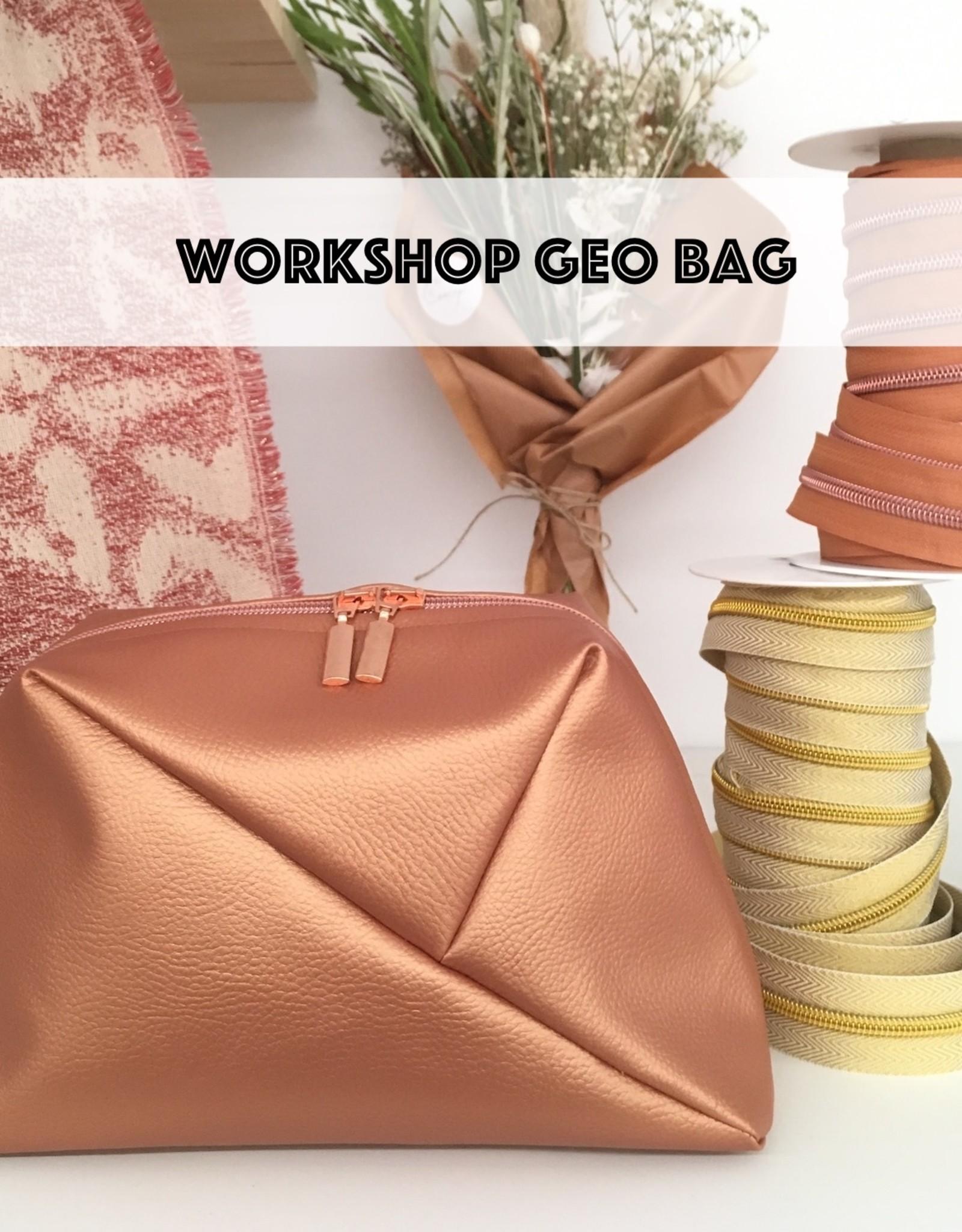 Workshop - Geo Bag - 10 dec