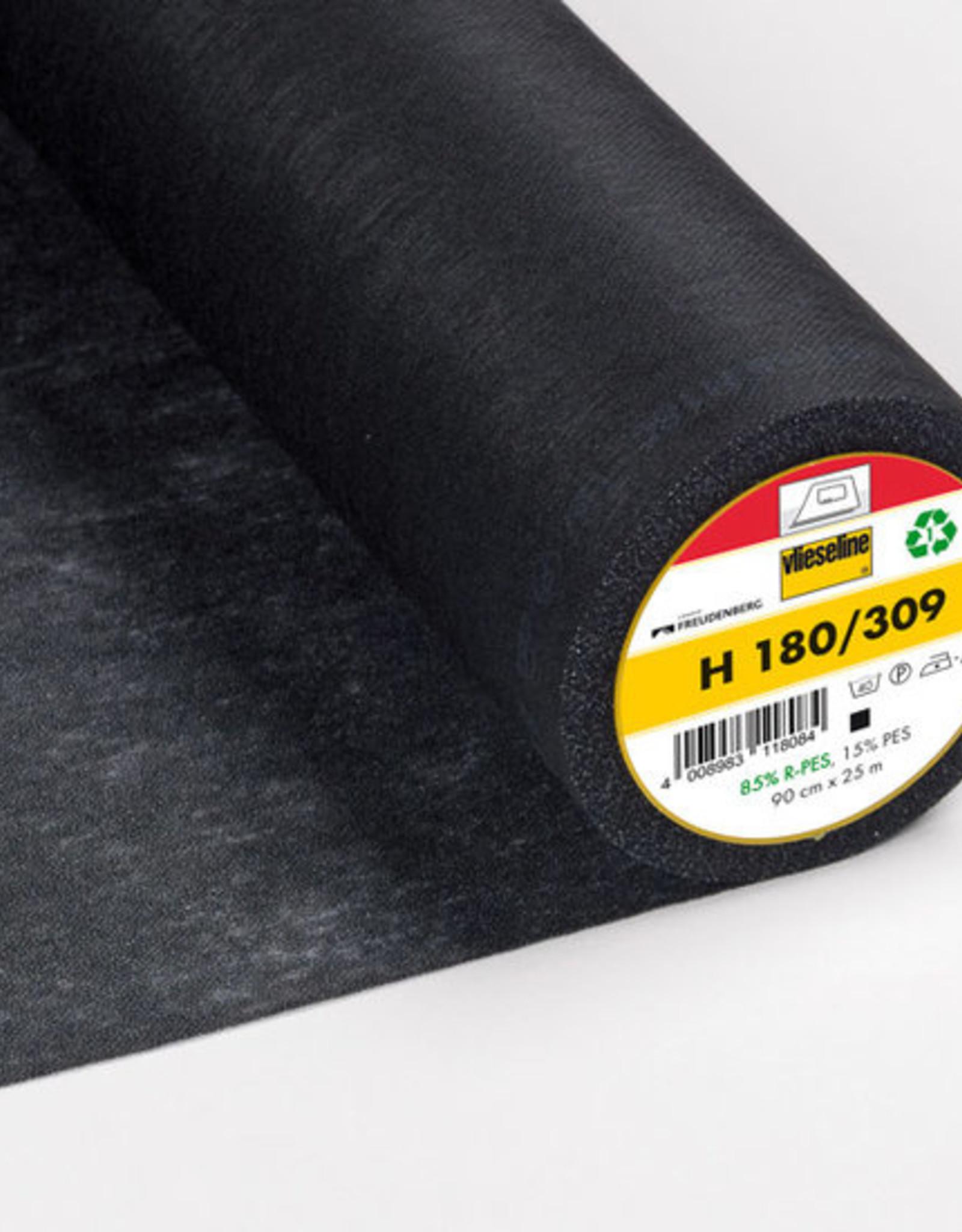 Vlieseline Strijkvlies versteviging - H180 - Zwart