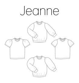 iris may patterns Patroon - Jeanne - shirt en trui