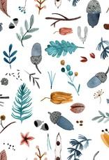 Katia Fabrics Katoen Poplin - Squirrel Forest