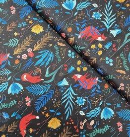 Katia Fabrics Katoen Poplin - In the Forrest