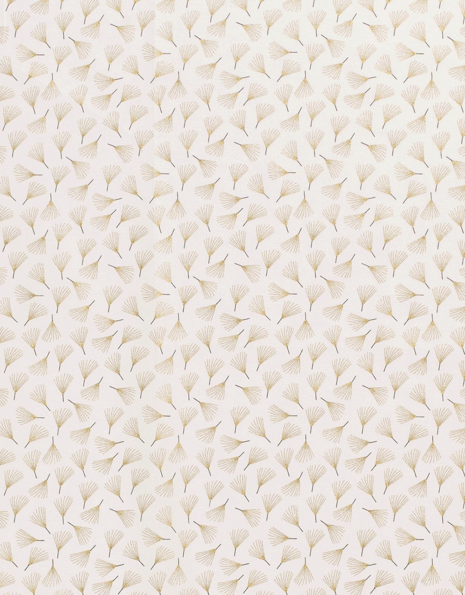 Katoen - Waaier - Crème
