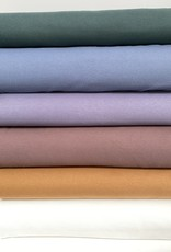 Wafel Jersey - Jeans Blauw