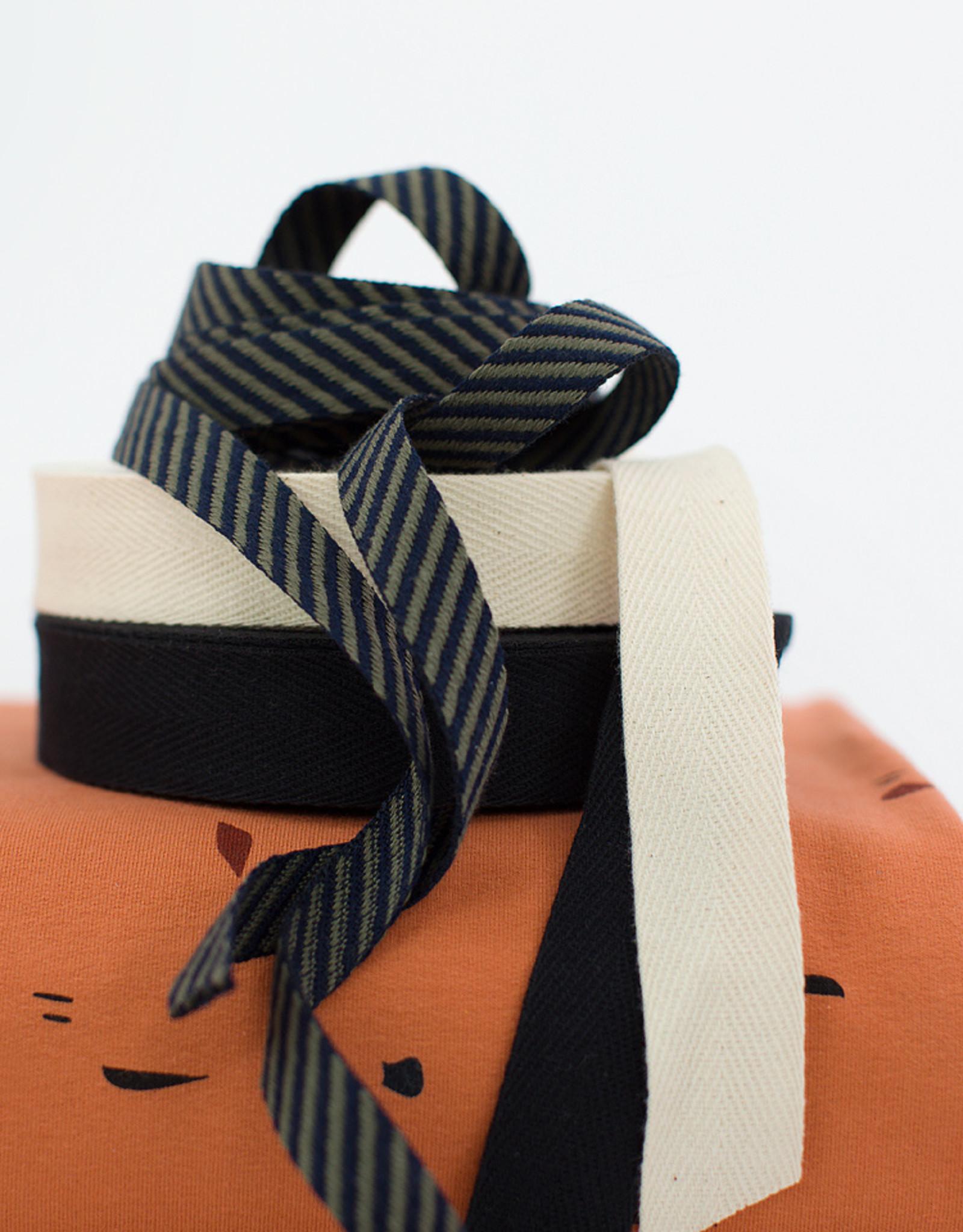 Keperband - Katoen - Zwart