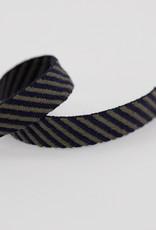 Keperband - Diagonaal - Blauw/Khaki