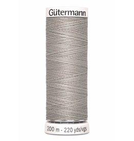 Gütermann Allesnaaigaren 200m - Chateau Grijs  - Kleur 118