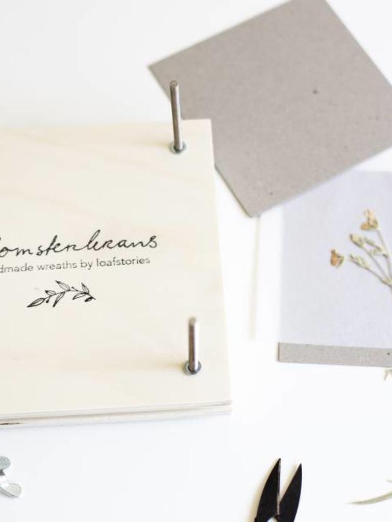 Flowerpress With Blomsterkrans Logo Blomsterkrans