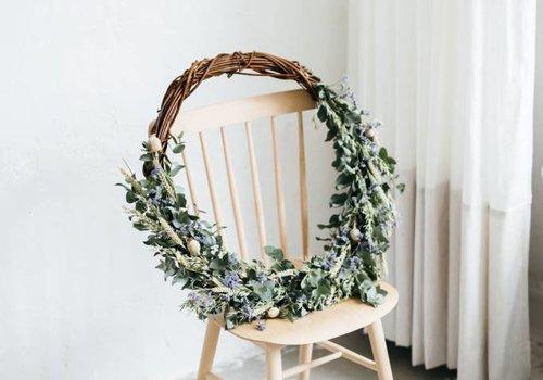 Wreath Isa-Linde Ø 60 cm