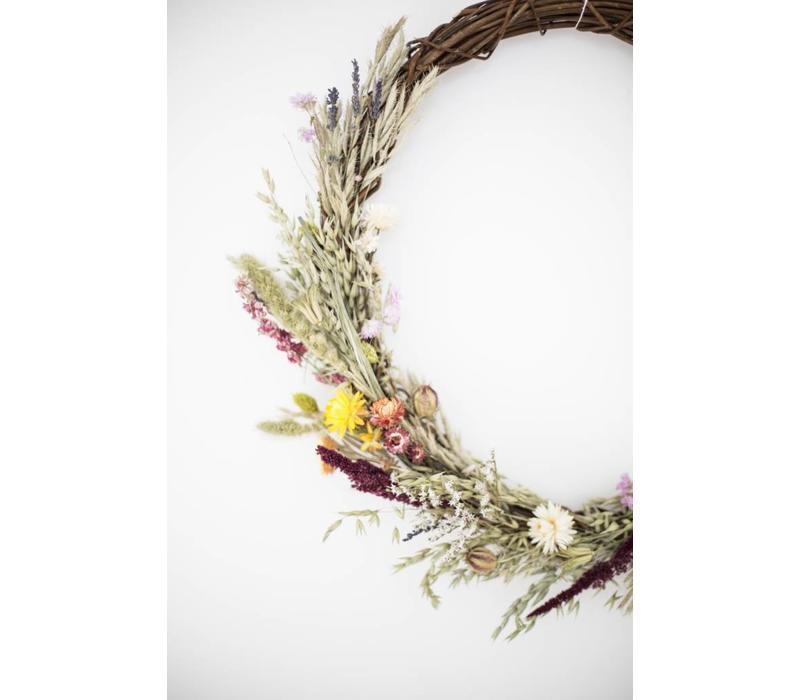 Flowerwreath Isa-Linde Sommer Ø 50 cm