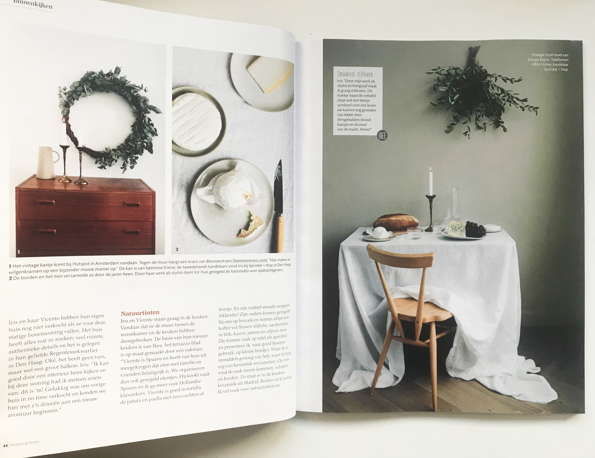 Tweedehands Design Stoelen Amsterdam.Press Blomsterkrans