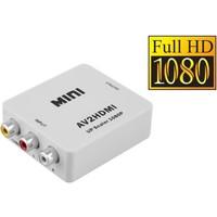 Tulp / AV / Composiet RCA naar HDMI omvormer - Adapter RCA to HDMI