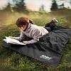 Waterdichte Picknick Mat Ultralicht – Picknick kleed - Camping festival deken mat - 110 x 160 - Zwart