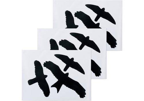 Vogel raamstickers zeflklevend