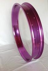 """Alufelge RM80, 24"""", lila eloxiert"""