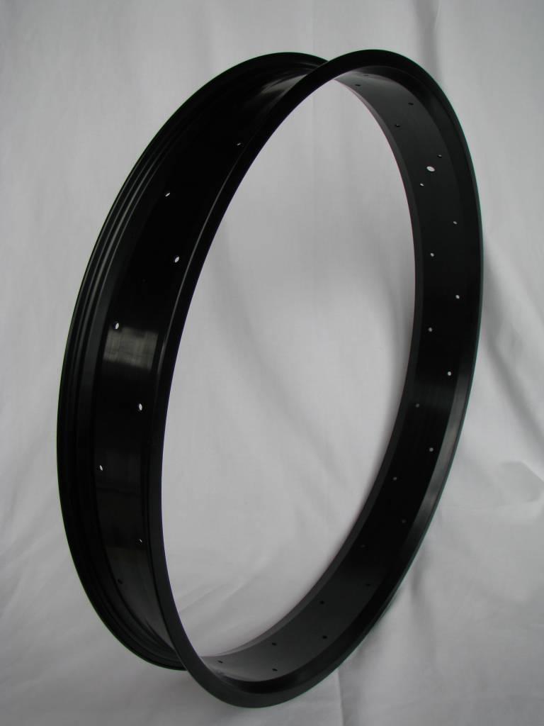 "Alufelge RM80, 26"", schwarz eloxiert"