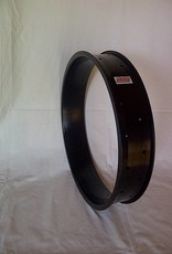 """alloy rim DW80, 20"""", black anodized, with faults"""