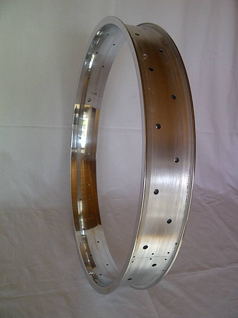 "alloy rim DW65, 26"", polished"