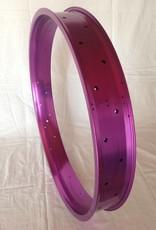 """alloy rim DW80, 26"""", purple anodized"""
