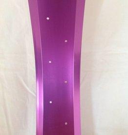 """alloy rim RM100, 24"""", purple anodized"""