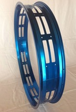 "cut-out rim RM100, 26"", blue anodized, 32 spoke holes, square"