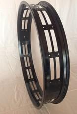 """cut-out rim RM80, 26"""", black anodized, 32 spoke holes"""