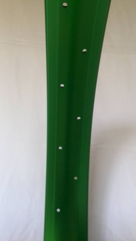"alloy rim DW65, 24"", green anodized"