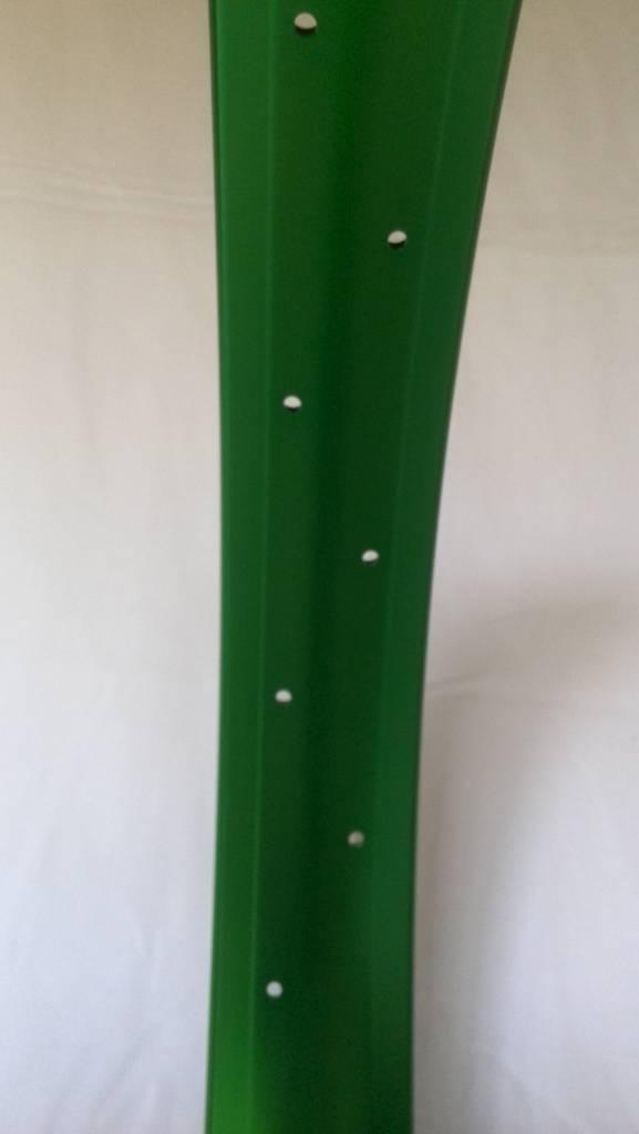 "alloy rim DW65, 24"", green anodized"