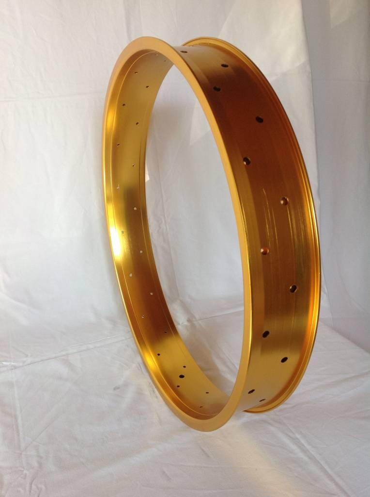 """alloy rim DW100, 24"""", golden anodized"""