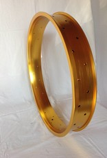 """double wall rim DW80, 26"""", golden anodized, 32h"""
