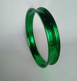 "alloy rim RM65, 20"", green anodized, 36 h"