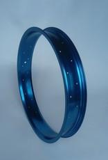 """Alufelge RM65, 20"""", blau eloxiert, 36 Speichenlöcher"""