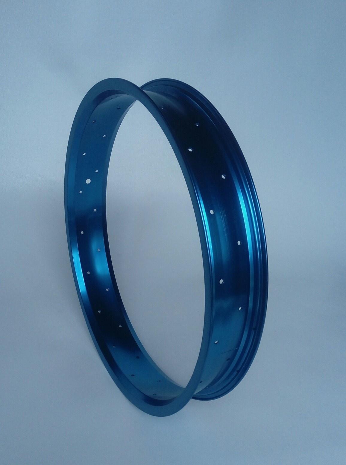 """alloy rim RM65, 20"""", blue anodized, 36 h"""